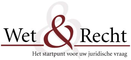 Wet Recht Juridisch