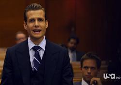 harvey suits rechtszaal